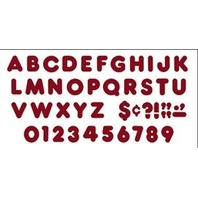 Maroon 4-Inch Casual Uppercase