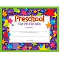 Preschool Certificates (Pack of 30)