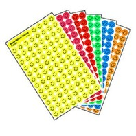 Neon Smiles SuperSpots Stickers Variety Pack; no. T-1942