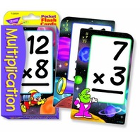 Trend Enterprises Multiplication Pocket Flash Cards