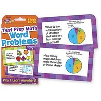 Word Problems Test Prep Math, Grades 1-3