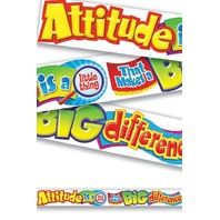 Attitude is a little thing...