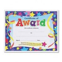 Certificates of Award 8-1/2 x 11 30/Pack