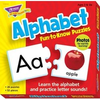 Fun-to-Know® Puzzles: Alphabet