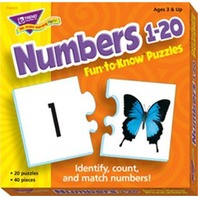 Fun-to-Know® Puzzles: Numbers 1-20