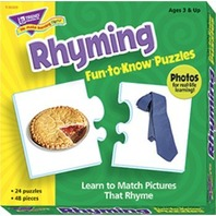 Fun To Know Puzzles: Rhyming; no. T-36009