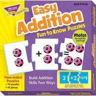 Fun To Know Puzzles: Easy Addtion; no. T-36013