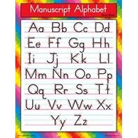 Manuscript Alphabet (Zaner-Bloser)