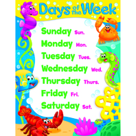 DAYS OF THE WEEK SEA BUDDIES