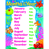 MONTHS OF THE YEAR SEA BUDDIES
