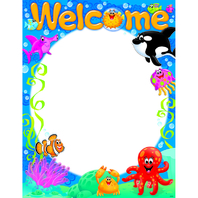 WELCOME SEA BUDDIES LEARNING CHART