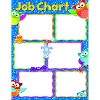 JOB CHART OWL-STARS LEARNING CHART
