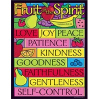 Fruit Of The Spirit Chart; 17 x 22; no. T-38708