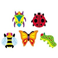 Trend Enterprises Inc. Supershapes Stickers Totally Buggy