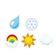 Trend Enterprises Inc. Supershapes Stickers Weather