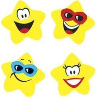 Trend Enterprises Inc. Supershapes Stickers Star Brights