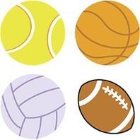 Trend Enterprises Inc. Supershapes Stickers Sports Ball