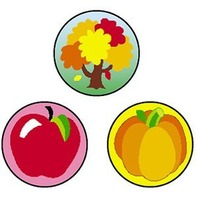 Trend Enterprises Inc. Superspots Stickers Fall Fun