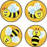 Trend Enterprises Inc. Superspots Stickers Bees Buzz
