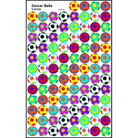 SOCCER BALLS SUPERSPOTS STICKERS