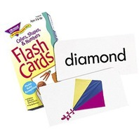 Colors, Shapes, and Numbers Skill Drill Flash Cards