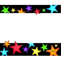 Gel Stars Name Tags; Pack of 36; no. T-68037