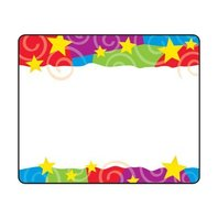 Trend Enterprises Inc. Stars N Swirls Name Tags