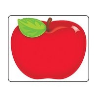Trend Enterprises Inc. Shiny Red Apple Name Tags