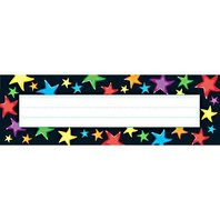 Gel Stars Desk Toppers Nameplates; 36 Per Pack