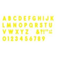 Yellow 7-Inch Billboard Uppercase