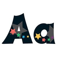Stargazer 4-Inch Friendly Uppercase/Lowercase Combo Pack Ready Letters®