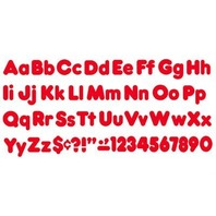 """Ready Letters Casual Combo Set Red 4""""h 182/Set"""