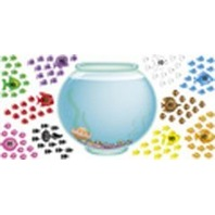 100 Day Fishbowl Bulletin Board Sets / BBS; no. T-8086
