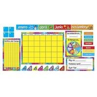 Calendario Anual Bulletin Board Sets / BBS; no. T-8097