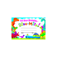 BIRTHDAY DINO-MITE PALS RECOGNITION