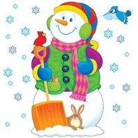 Super Snowman Bulletin Board Sets / BBS; no. T-8127