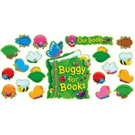 Buggy For Books Bulletin Board Sets / BBS; no. T-8155