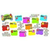 TREND Happy Birthday Mini Bulletin Board Set, 47-Pieces (T8709MP)