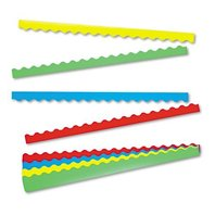 TREND Terrific Trimmers Border Variety Pack, 2-1/4 x 39 Inches, Assorted Colors, 48-Pieces (T9001)