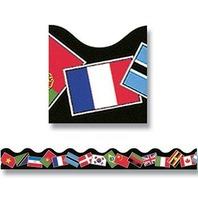 Trend Enterprises Inc. Trimmer World Flags