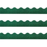TREND ENTERPRISES, INC. Terrific Trimmers Sparkle Border, 2 1/4 x 39 Panels, Green, 10 per Set