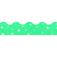 TEAL TERRIFIC TRIMMERS SPARKLE