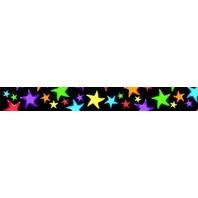 TREND ENTERPRISES Trimmers, Gel Stars, 2-1/4-Inch x 39-Feet, Multi (TEPT92322)