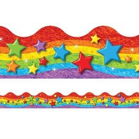 Rainbow & Stars Terrific Trimmers