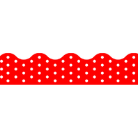 POLKA DOTS RED TERRIFIC TRIMMERS