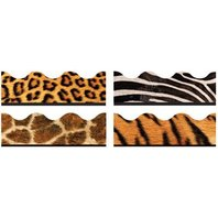 BBS Bulletin Board Sets Terrific Trimmers: Animal Prints Variety Pack; no. T-92917