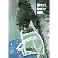 Argus Poster: Never, Never Quit
