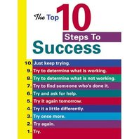 Argus Poster: The Top 10 Steps To Success