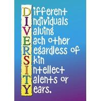Argus Poster: Diversity; no. T-A62972