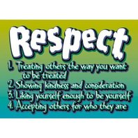 Argus Poster: Respect; no. T-A63105